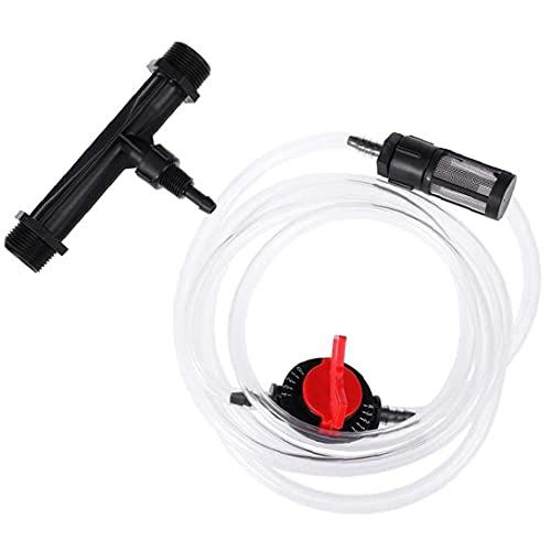 Düngerinjektor-Bewässerung Venturi-Dünger-Kit-Mixer-Injektoren Rohrschalterfilter für landwirtschaftliche Bewässerung, Werkzeug für den Garten