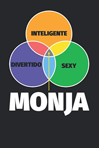 Cuaderno Líneas: Inteligente - divertido - sexy: Monja