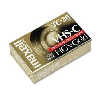 Maxell HGX-GOLD TC-30 Premium High Grade Video Cassette 3 Pack