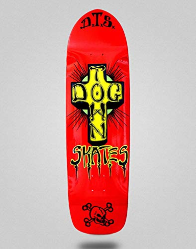 lordofbrands Monopatin Skate Skateboard Dogtown Big Boy 2 Pool Deck 9x32.75 Red