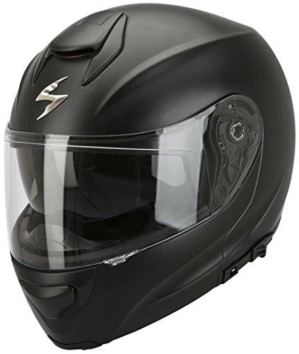 Scorpion Exo 3000 Air Solid - Motorradhelm Klapphelm, schwarz matt, XXXL (64-65 cm)