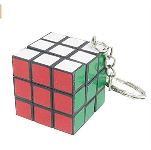 Gwanna Mejor Regalo Colgante de Encanto Mini Cubo Llavero Smooth Cube Colgante Niños Puzzle Regalo