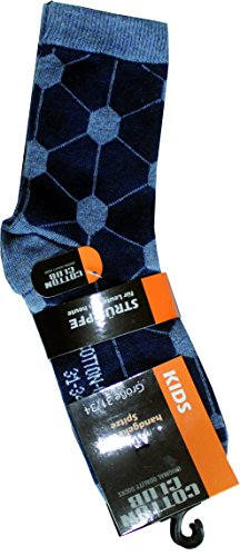 Cotton Club Kindersocken mit Motiv im 3er Pack (35-38, marine/schwarz/jeans)
