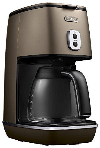 デロンギ(DeLonghi) ディスティンタコレクション ドリップコーヒーメーカー アロマモード搭載 フューチャーブロンズ 6杯 ICMI011J-BZ