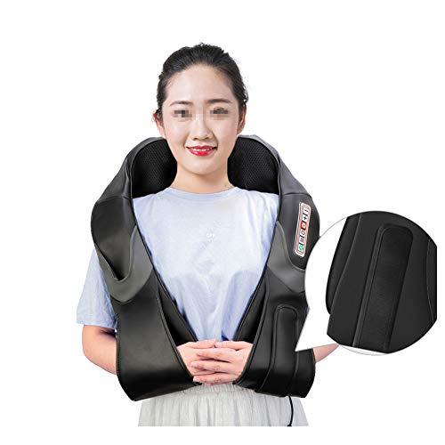 MSQL U-Form Elektrisches Shiatsu-Rücken-Nacken-Schulter-Körpermassagegerät, Infrarot-beheiztes Knetmassagem, geräuschloses Design, Linderung von Muskelschmerzen und Stress