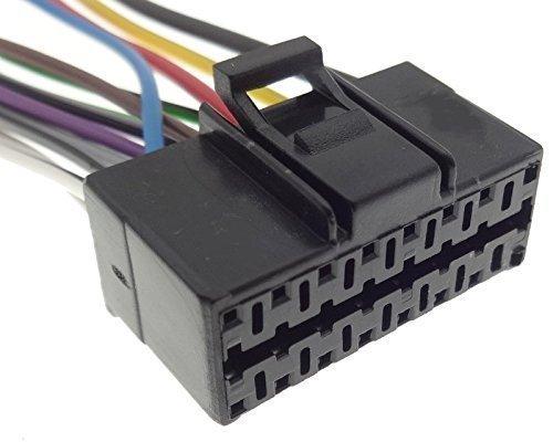 PANASONIC (2) autoradio kabel radio adapter stekker ISO aansluitkabel kabelboom