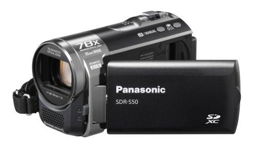 Panasonic Videocam Sdr-S50Eg-K Sd 78Xzoom
