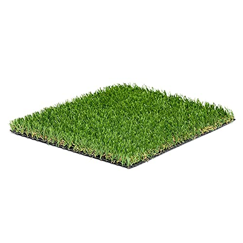 Qualitäts-Kunstrasen wasserdurchlässig und sehr UV Beständig, Rasenteppich Grasmatte Künstlicher Rasen Rollrasen Kunststoffrasen Gras Rasenteppich Kunststoffrasen für Garten Terrasse Balkon…
