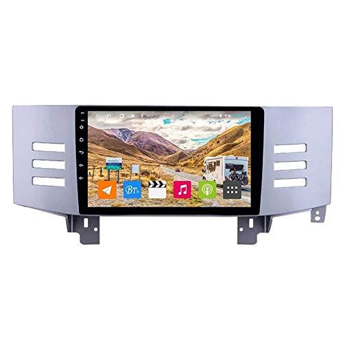 ZHANGYY Unidad Principal estéreo con Radio de Coche Android 8.1 2DIN de 9 Pulgadas Compatible con Toyota Reiz 2005-2009, navegación GPS/Bluetooth/FM/RDS/Control del Volante/cámara Trasera