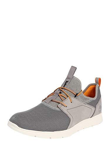 Timberland M Killington Leather and Fabric Sock-FIt Oxford Grau, Herren Freizeitschuh, Größe EU 44 - Farbe Steeple Grey