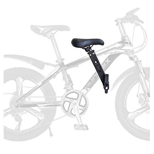 XIAOHE Kinder-Fahrradsitz für Mountainbikes, tragbarer Kinder-Fahrradsitz. Der vorne montierte Kinderfahrradsitz ist einfach zu demontieren und zu installieren, geeignet für Kinder von 2 bis 5 Jahren