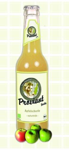 12 Flaschen Proviant Apfelschorle naturtrüb Berlin a 0,33l inc. 0.96€ MEHRWEG Pfand