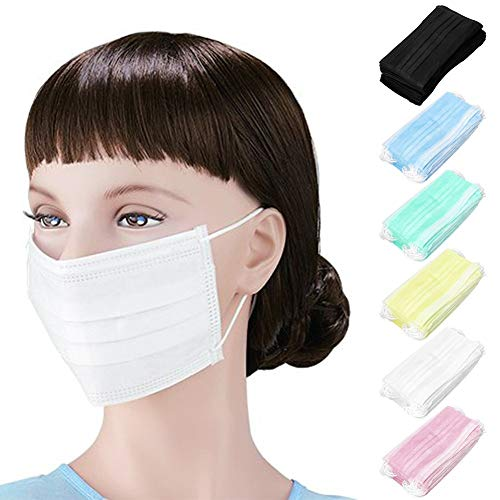 masque medical jetable blanc