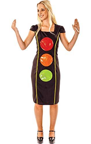 ORION COSTUMES Disfraz de Semforo Gracioso para Mujeres