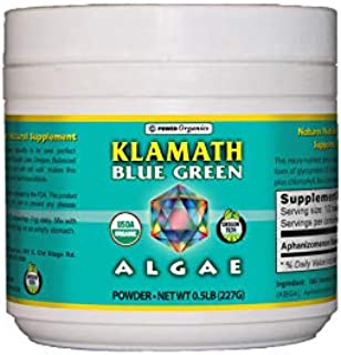 Klamath Blue Green Algae 1/2 lb Powder by Power Organics