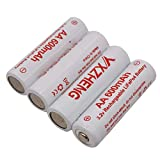 3.2V AA LiFePO4 Rechargeable Battery replacment Batteries for 1.5v 1.2v AA Batteries (4pcs AA Batteries)