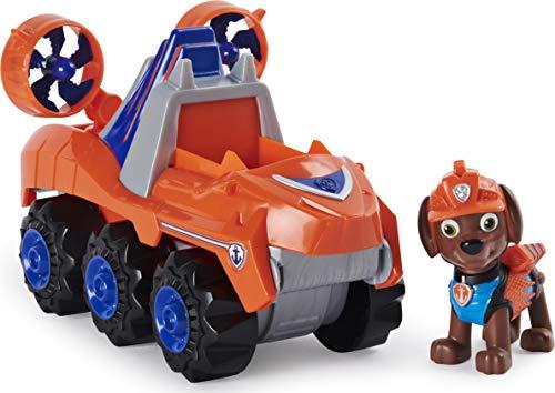 PAW Patrol, veicolo a carica Dino Rescue Zuma con dinosauro misterioso