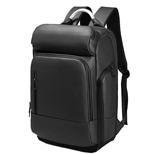 Stijlvolle zakelijke laptoptas, multifunctionele reisrugzak herenrugzak 15.6-inch USB-opladen