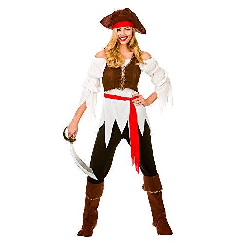 Pirate Shipmate Costume Woman Fancy Dress Medium