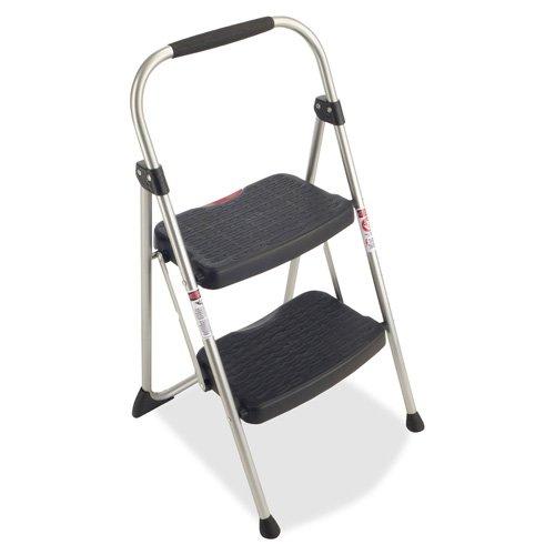 Werner 2 Step Steel Folding Step Ladder 225 lb. Cap