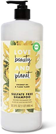 Love Beauty And Planet Hope and Hair Repair Sulfate Free Shampoo for Split Ends and Dry Hair product image