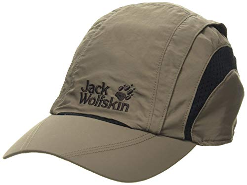 Jack Wolfskin Kappe Vent Pro Cap, Siltstone, L