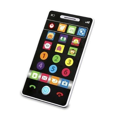 Kidz Delight Smooth Touch Smart Phone, Black Display NewBorn, Kid, Child, Childern, Infant, Baby by All-4-NewBorn