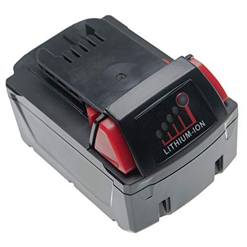 vhbw Batería recargable compatible con Milwaukee 2601-21, 2606-22CT, 2607-20, 2607-22, 2607-22CT herramientas eléctricas (4000 mAh, Li-Ion, 18 V)