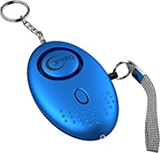 Personal Security Emergency Alarm Keychain Extreme Sound 130db Portable with LED Light for Kids, Little Boys, Girls, Women...