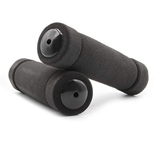 Kartell ® Schaumstoffgriffe für Fahrräder, Roller und Scooter, schwarz
