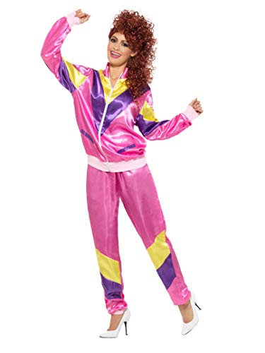Smiffys 80s Height of Fashion Shell Suit Costume