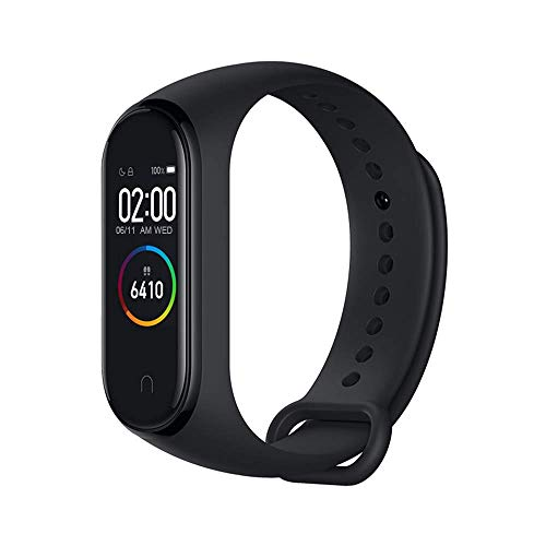 Xiaomi Mi Band 4 Fitness Tracker Color AMOLED Pantalla Pulsera Inteligente Monitor de Ritmo Cardíaco
