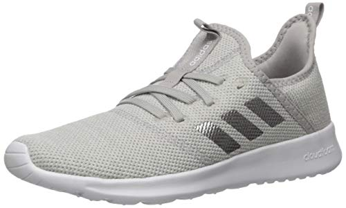 adidas Women's Cloudfoam Pure Running Shoe, Grey/Matte Silver/Grey, 8 Medium US