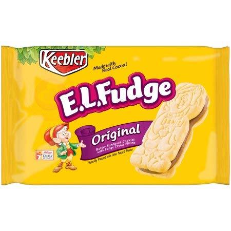 half Keebler E.l.fudge Elfwich Butter Sandwich Cookies Original Ultra-Cheap Deals P