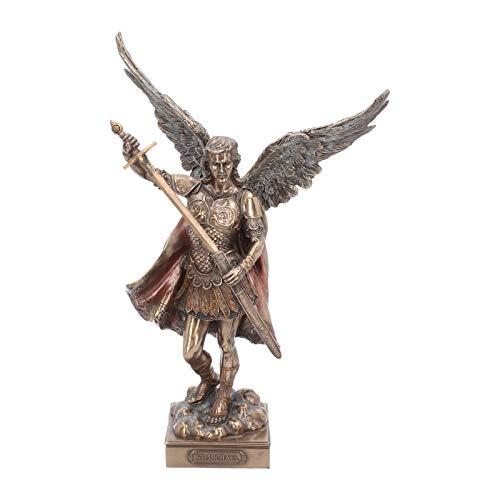 Nemesis Now Arcángel San Miguel Paz Y Justicia Figura 42cm Bronce