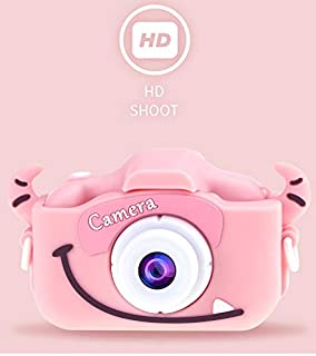HENGTONGTONGXUN Digital Cameras 2019 2.7HD Screen Digital Camera 21MP Anti-Shake Face Detection Camcorder 8X Digital Zoom with Microphone c0612 Easy to use Color : B