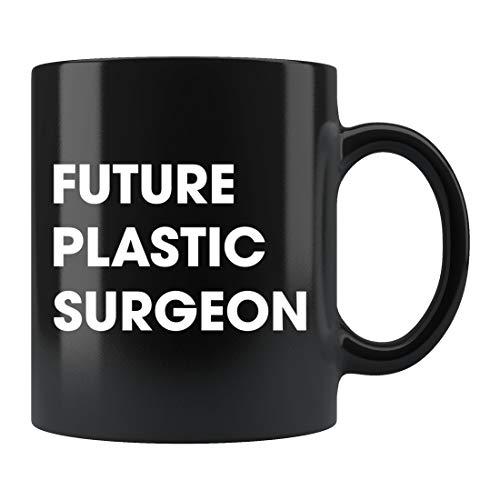 DKISEE Taza de cirujano plástico, regalo de cirujano plástico, cirugía cosmética, regalo del cirujano, graduación del cirujano, regalo del futuro cirujano, regalo para cirujano