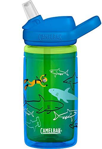 Camelbak Kids' Eddy Insulated Bottles, Scuba Sharks, 0.4 Litre/14 oz