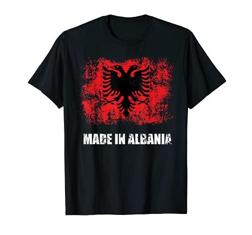 Albanian Shirt Men Women Gift Patriotic Made In Albania T-Shirt