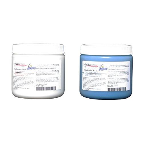 Magikmold P-525 Platinum-Cure Silicone Rubber - 2-lb Kit