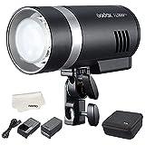 Godox AD300Pro Pocket Flash TTL 300Ws HSS 1/8000s 2.4G inalámbrico X sistema con lámpara de modelado Bicolor Batería de litio 2600mAh para Cámaras Nikon/Sony/Canon/Olympus/Panasonic/Fujifilm