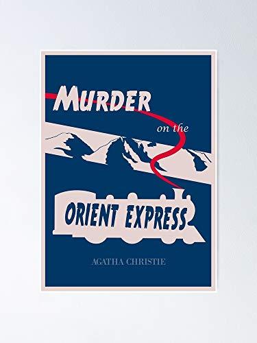 AZSTEEL Póster de Asesinato en el Oriente Express