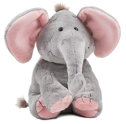 Schaffer Knuddel mich!-Sugarbaby rosé Elefante de Peluche Color Rosa, Größe L 30 cm (Rudolf Schaffer Collection 5193)