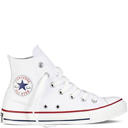 Converse Unisex Chuck Taylor All Star Hi Top Optical White Sneaker - 13 B(M) US / 11 D(M) US