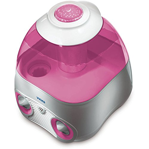 Vicks Starry Night Cool Moisture Humidifier with Projector & VapoPad Scent Pad...
