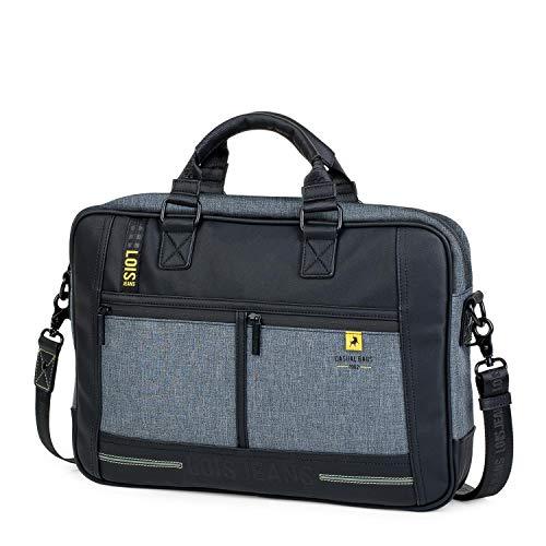 Lois - Aktentasche für Herren. Handtasche. Messenger Bar. Laptop 15