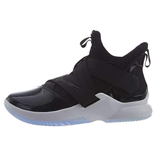 Nike Lebron Soldier XII SFG Mens Basketball-Shoes AO4054-005_10.5 - Black/Black-White