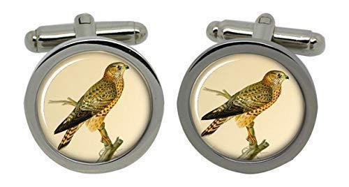 Merlin oiseau de proie Boutons de manchette-dans une boîte cadeau
