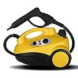 L&WB Mobile + Aspirapolvere Portatile con 16 Accessori - Pulitore A Vapore Naturale Senza Agenti Chimici per Pavimenti, Banconi, Elettrodomestici, Finestre, ECC.