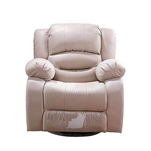 L.I.B Echtes Ledersofa Relax Massagesofa Modernes Design für Büro oder WohnzimmerC.